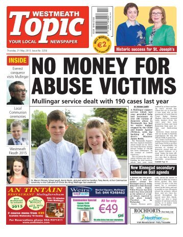 Westmeath Topic- 21 May 2015