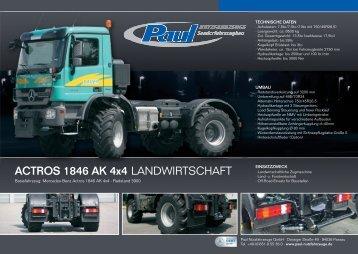 ACTROS 1846 AK 4x4 LANDWIRTSCHAFT - Paul Nutzfahrzeuge