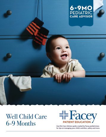 Well Child Care 6-9 Months - Facey Medical Group