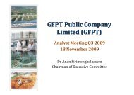 mm Bt - GFPT Public Company Limited