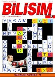 KAMU BİLİŞİM PLATFORMU - 13 - Bilişim Dergisi