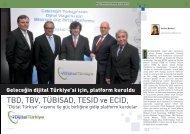 Geleceğin dijital Türkiye'si için, platform kuruldu - Bilişim Dergisi