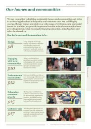 Our homes and communities - Corporate Responsibility Report ...