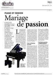 PIANO ET DESIGN - Designer's Days