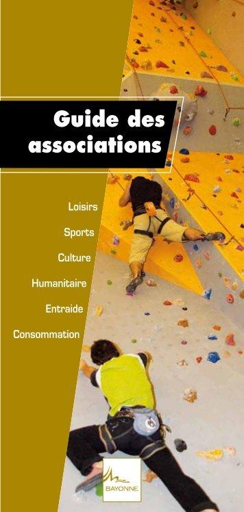 Guide des associations - Ville de Bayonne
