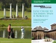 Golf Cruise to Southern Spain & Morocco - Columbia Alumni ...