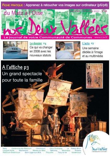 Numéro de novembre / décembre 2007 - n°10 - CC2V