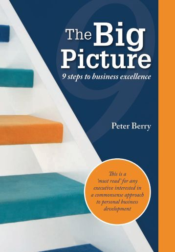 Peter Berry 9 steps to business excellence - Peter Berry Consultancy