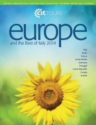 europe and the best of italy 2014
