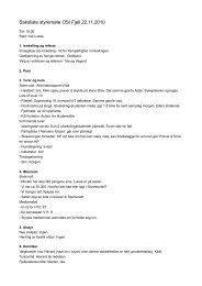 Referat 6, 2010 - OSI Fjell