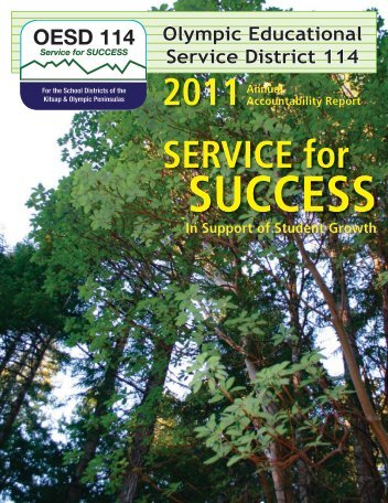 Annual Report 2011 - Olympic Educational Service District 114