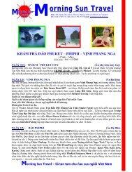 Dao Phu ket - nghi duong cao cap resort - Morning Sun Travel