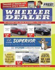 Wheeler Dealer 21-2015