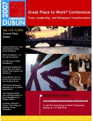 dublin, ireland - Great Place to Work Institute
