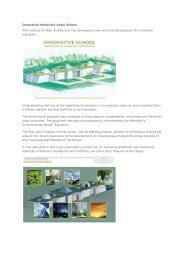 Innovative Maharishi Vastu Schoo1 - Vedic Architecture