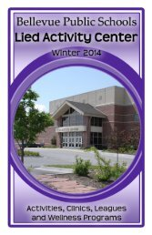 Winter 2013 - Bellevue Public Schools