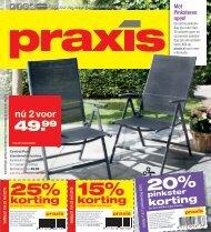 Praxis folder 21 t/m 25 mei 2015