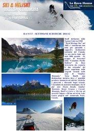 Scarica la brochure - Le Reve House Adventure
