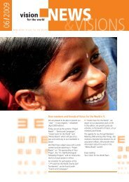 Newsletter June 2009 - Vision for the World