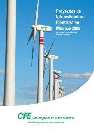 Proyectos de Infraestructura Eléctrica en México 2009