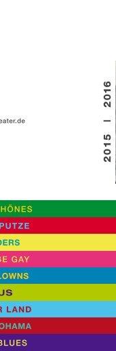 150 Jahre Gärtnerplatztheater - das Jahresheft der Spielzeit 2015/2016 www.gaertnerplatztheater.de