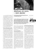 2. Die indirekten Folgen des L. - Lärm.Schweiz - Seite 6