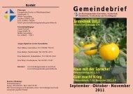 Gemeindebrief 3_2011.pdf - Kirchenkreis Egeln