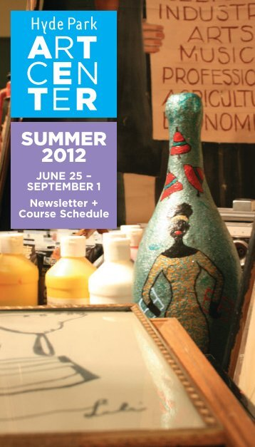 summer 2012 - Hyde Park Art Center