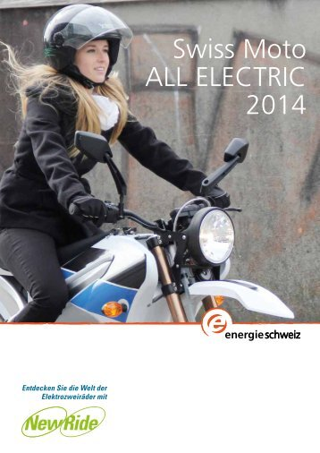 Swiss Moto ALL ELECTRIC 2014