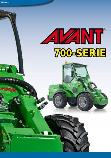 mit der AVANT 700-Serie