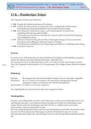13 K - Wandartiger Träger - PBS Programmvertriebs GmbH