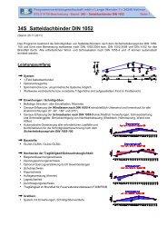 34S Satteldachbinder DIN 1052 - PBS Programmvertriebs GmbH