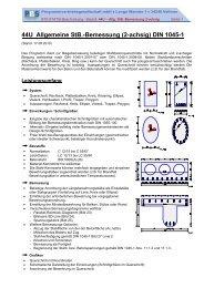 44U Allgemeine StB.-Bemessung (2-achsig) DIN 1045-1