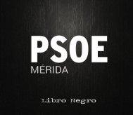 Libro Negro del PSOE de Mérida