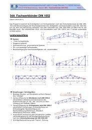 34A Fachwerkbinder DIN 1052