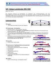 34Y Hetzer-Leimbinder DIN 1052