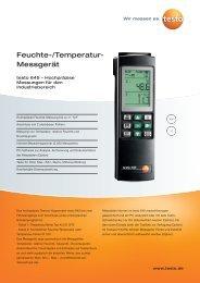 Feuchte-/Temperatur- Messgerät - Aura Nord
