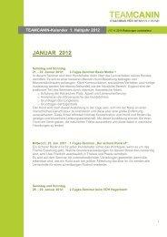 JANUAR 2012 - TeamCanin