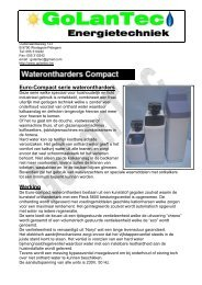 Brochure Golantec waterverzachters Eurocompact