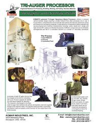 Tri-Auger 090302sls.indd - Komar Industries