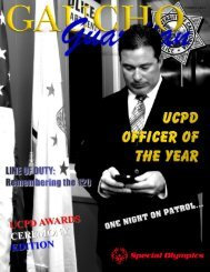 Volume 3, Issue 3 - UCSB Police Department - University of ...