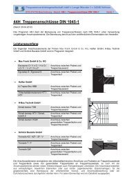 44H Treppenanschlüsse DIN 1045-1 - PBS Programmvertriebs GmbH