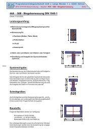 44A - StB - Biegebemessung DIN 1045-1