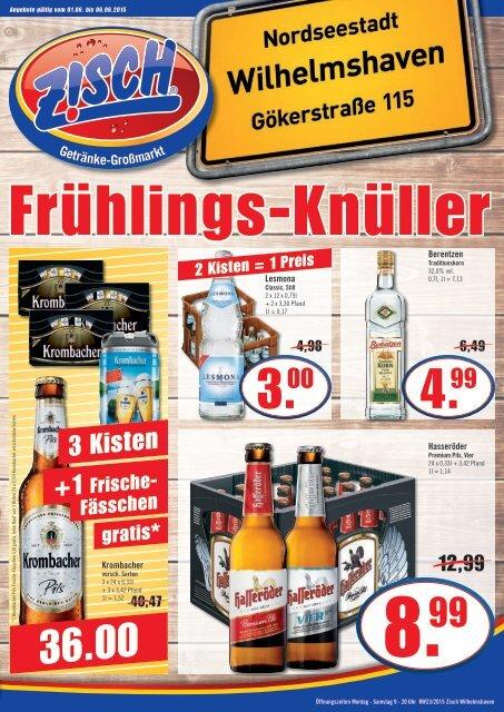 Zisch Wilhelmshaven Angebote KW23/2015