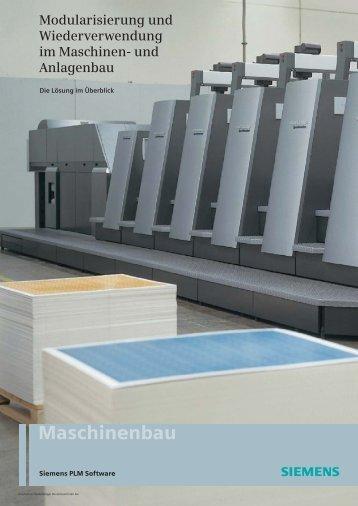 Modularisierung und Wiederverwendung im Maschinen