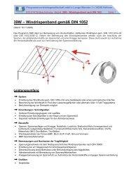 39W – Windrispenband gemäß DIN 1052