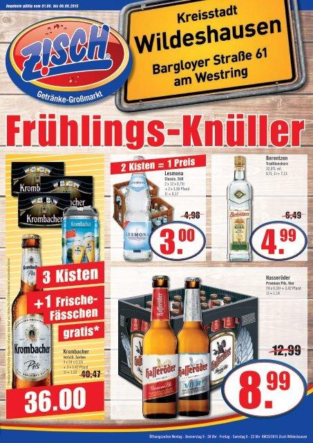 Zisch Wildeshausen Angebote KW23/2015