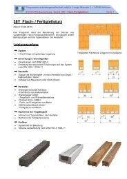 38Y Flach- / Fertigteilsturz - PBS Programmvertriebs GmbH