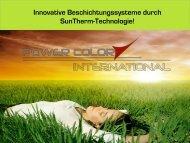 Produkt Präsentation - Power Color International
