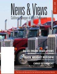 diesel engine regulations - California League of Food Processors